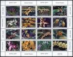 2007 flowers stamps