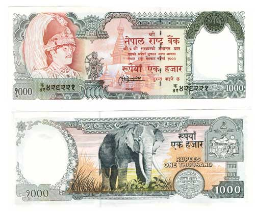 Rupees One Thousand