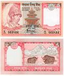 New Rupees Five Notes