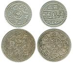 1905 half mohar and 1 mohar 2coins