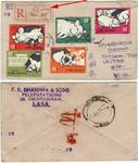 1962 regd letter w ping briding stamp