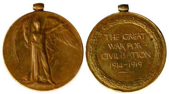 medal worldwar i